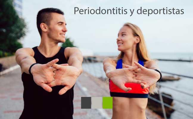 el deportista que padece periodontitis baja de rendimiento, además de que aumentan los factores de riesgo de padecer otras enfermedades graves.